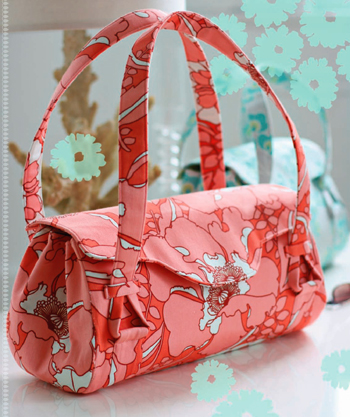 Amy Butler Blossom Bag Sewing Pattern