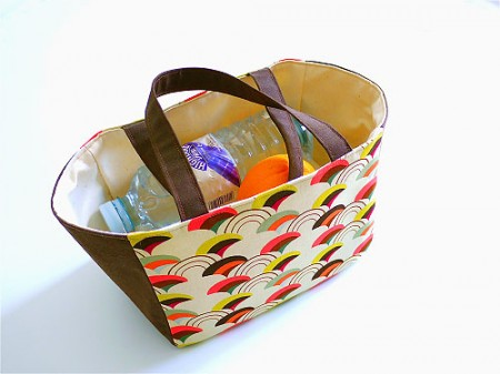 Easy Lunch Tote Sewing Pattern