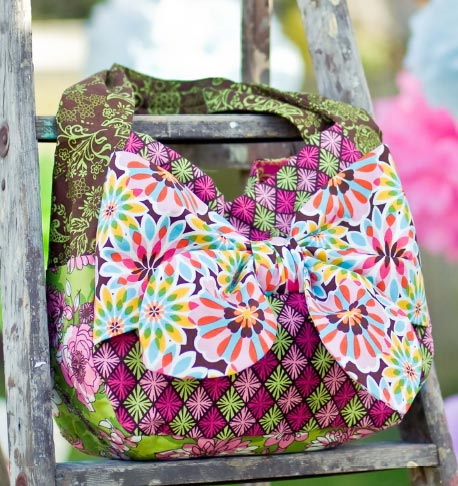 Luscious Bow Tote Sewing Pattern