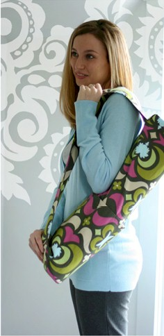 Amy Butler Nigella Yoga Bag Sewing Pattern