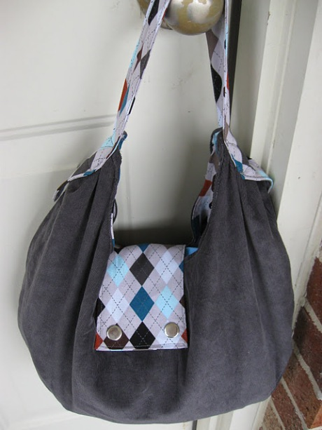 Slouchy Bag Pattern by Dora of Show Tell Share